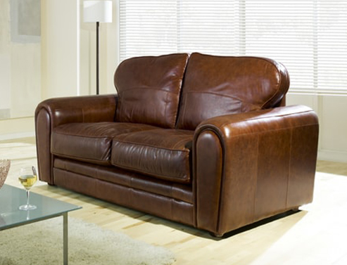 Chicago Leather Sofa Bed