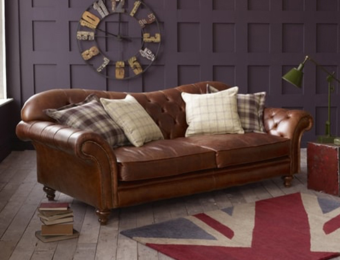Crompton Large Chesterfield Sofa