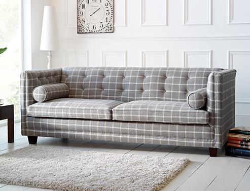 Harlow Square Fabric Sofa