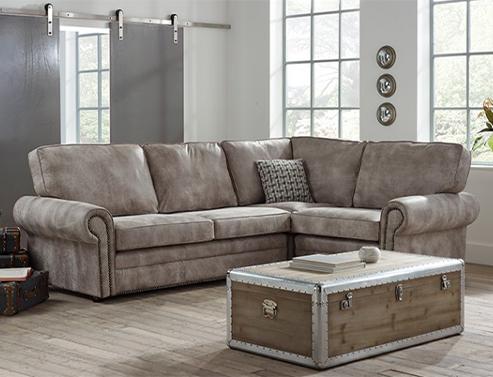 Portland Contemporary Corner Sofa