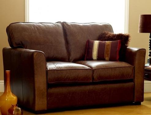 Torino Comfy Leather Sofa