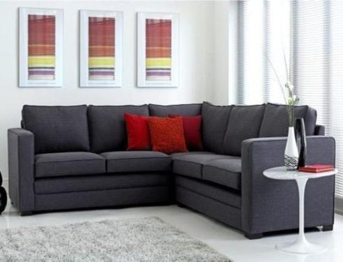 Trafalgar Fabric Corner Sofa Bed