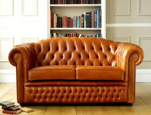 Ashford Vintage Leather Sofa Bed