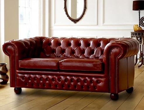 Darlington Leather Sofa Bed