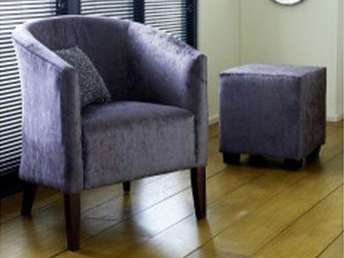 EST Small Fabric Armchair