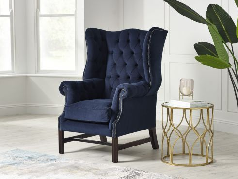 Manchester Fabric Wing Chair
