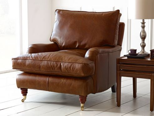 Holbeck Vintage Leather Couch Chair