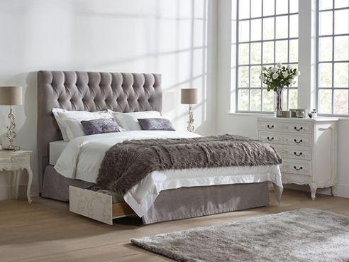 Lloyd 2 Drawer Fabric Bed