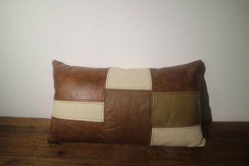 Patchwork Bolster Cushion