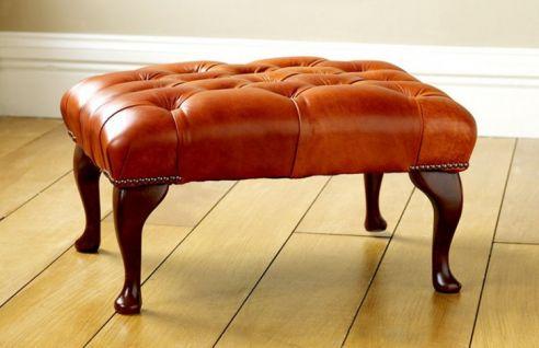 Queen anne footstool